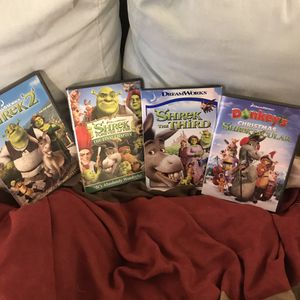 Shrek Dvd Set for Sale in La Habra Heights, CA