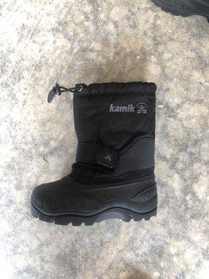 Kids kamik snow boots for Sale in Everett, WA