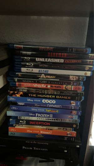 Blue ray movies for Sale in Escondido, CA
