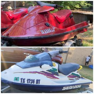 2 Jetski's with trailer Trade or Sell for Sale in Dallas, TX
