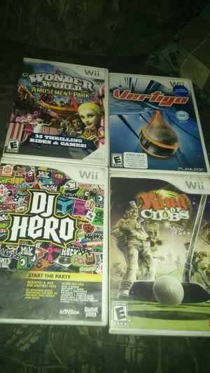 Wii games for Sale in Welch, WV