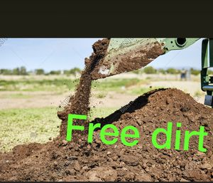Free dirt - anywhere - free delivery dirt for Sale in San Jose, CA