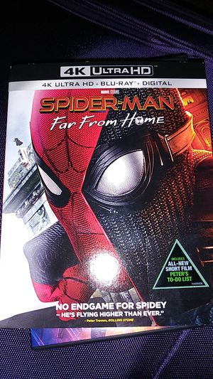 Spiderman far from home dvd for Sale in Buffalo, NY