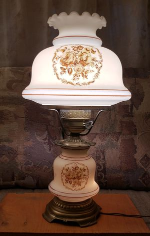 1978 Quoizel Hurricane lamp for Sale in Denver, CO