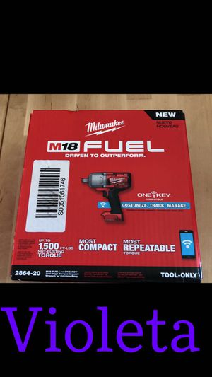 Milwaukee impact wrench for Sale in Los Angeles, CA