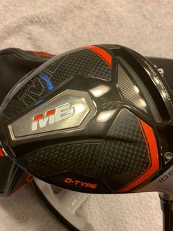 Taylormade M6 10.5* Driver D-Type The Stiff Flex ATMOS Shaft. Excellent Condition for Sale in Mercer Island,  WA