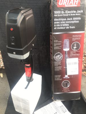 5,000 lb Electric Trailer Jack - NEW for Sale in Los Angeles, CA