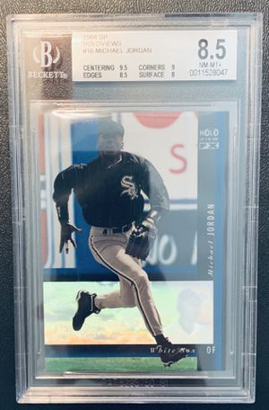 1994 Upper Deck SP Baseball Whitesox Holoview Michael Jordan RC! BGS 8.5! for Sale in Houston, TX