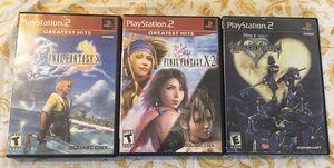 Square Enix PS2 Bundle for Sale in Mesa, AZ