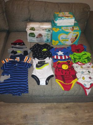 Newborn -3months clothing & necessities(Boys) for Sale in Dallas, TX
