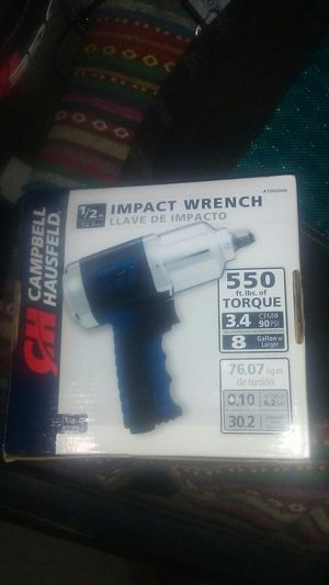 campbell hausfeld 1/2 drive impact wrench for Sale in Fife, WA