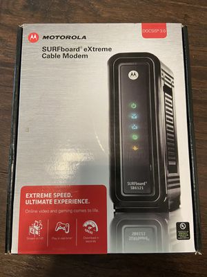 Motorola SURFBoard Cable Modem for Sale in Watauga, TX