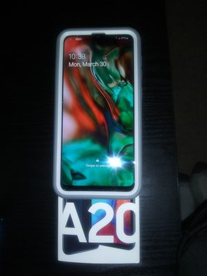 Samsung brand new : A20 CELL PHONE for Sale in REDLANDS, CA