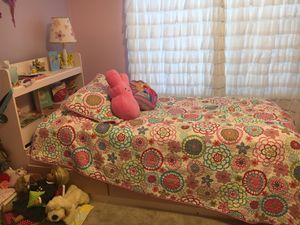 Twin bed frame with storage drawers for Sale in Virginia Beach, VA