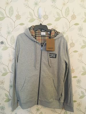 Burberry Cotton Hoodie Hove Logo Appliqué (Brand New) for Sale in Arcadia, CA
