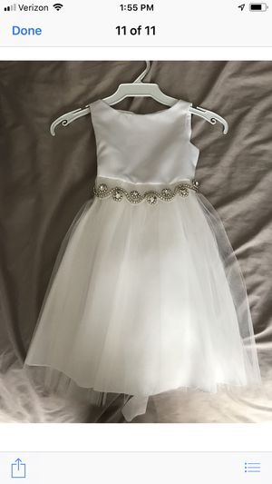 2 bling baptism/ wedding dress for Sale in San Diego, CA