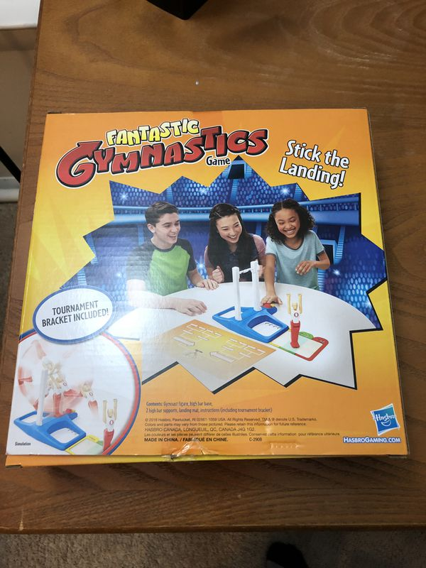 New Gymnastics game and puzzle