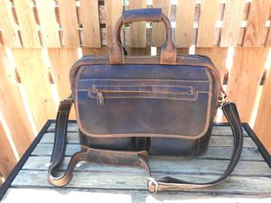 KATTEE Leather Briefcase Laptop/Messenger Bag for Sale in Seattle, WA