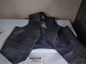 3xl leather vest for Sale in Palmer, NE