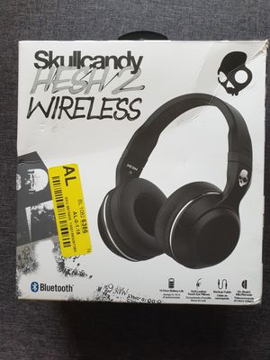 Skullcandy Hesh 2 Wireless Bluetooth Headphone - Black 👌 for Sale in Hickory Hills, IL