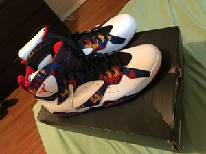 DS Size 12 Crazy Sweater Jordan 7s for Sale in Los Angeles, CA