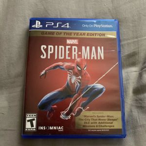 Spider Man GOTY Edition for PS4 for Sale in Las Vegas, NV