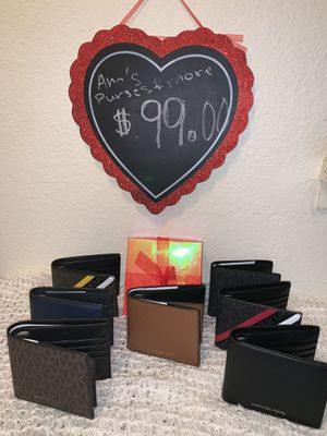 ❤️❤️Wallets for men ❤️❤️❤️🎁🎁🎁🎁$99.00 for Sale in Santa Ana, CA