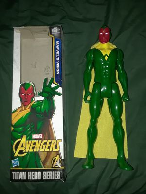 Vision Action Figure - Marvel Titan Hero Series for Sale in West Covina, CA