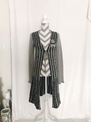 BCBG MaxAzria Mohair/Wool Cable Knit Long Cardigan - Size S for Sale in South Windsor, CT