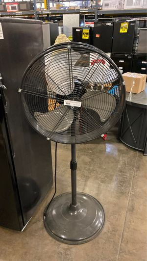 Commercial Electric Adjustable Height 20 in. Shroud Oscillating Pedestal Fan for Sale in Phoenix, AZ