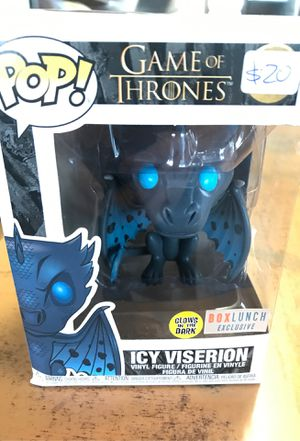 Game of Thrones Icy Viserion Funko Pop for Sale in East Los Angeles, CA