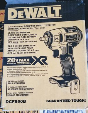 DEWALT 20V 3/8 IMPACT WRENCH NEW (TOOL ONLY) for Sale in Jersey City, NJ