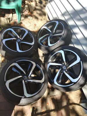 VENDO RINES PARA HONDAS SAIZ 19. 5X114.3 ESTAN EN VUENAS CONDICIONES for Sale in UNIVERSITY PA, MD