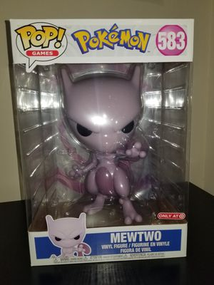 Funko POP! Pokemon 10in Mewtwo #583 Special Edition Figure for Sale in Atlanta, GA