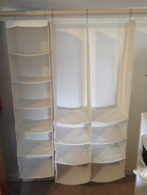 Closet organizer (folds up) holds heavy! $17 for Sale in Burbank, IL
