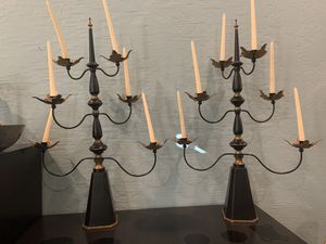 Set of two antique candelabras for Sale in Phoenix, AZ
