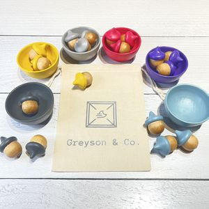 Sorting Cups with Acorns for Sale in NJ, US