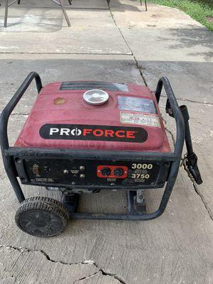 ProForce/Powermate Electric Generator for Sale in San Antonio, TX