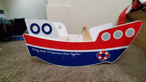 Wooden toddler rocker boat for Sale in Goodyear, AZ