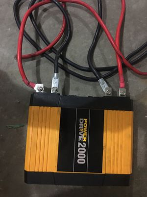 Power drive inverter 2000 watts for Sale in Huntley, IL