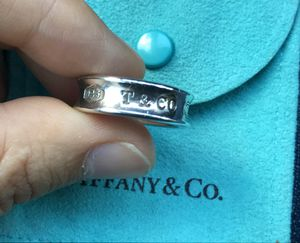 Authentic Tiffany and Co 1837 ring size 8 for Sale in Fairfax, VA