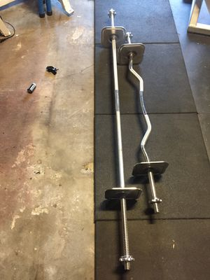Ironmaster straight and curl bar for Sale in Canoga Park, CA