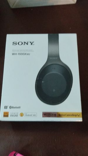 Sony wireless headphones Bluetooth compatible with all devices noise for Sale in North Wales, PA