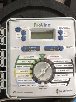Weathermatic Proline Sprinkler Control for Sale in Wyckoff,  NJ