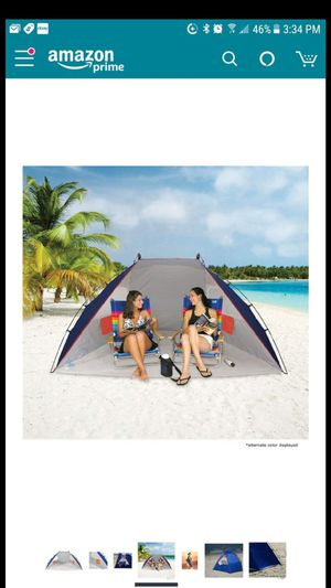 NEW Rio Beach Portable Sun Tent and Shelter for Sale in Issaquah, WA