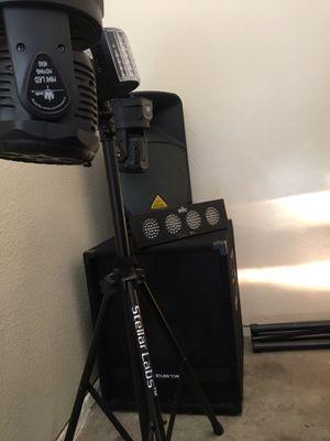 DJ audio and lighting equipment. for Sale in San Jose, CA
