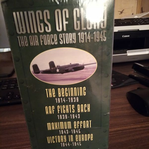 Wings Of Glory VHS Tapes Brand New