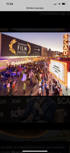 2 GOLD passes. SCAD Savannah Film Festival 2019 {link removed} for Sale in Savannah, GA