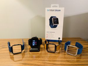 PRICE REDUCED!!! Fitbit Blaze - Large FREE BANDS INCLUDED!!! for Sale in Lexington, KY