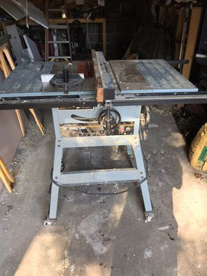 Delta table saw $250 obo-will consider trade for planer for Sale in Blauvelt, NY